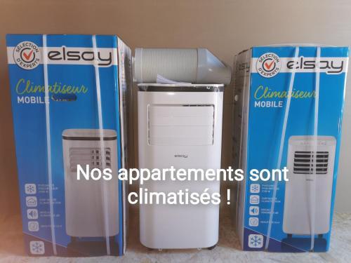 Les appartements du centre, refaits a neuf, climatises, hyper centre, 50m a pieds des commerces, res, Pyrénées-Atlantiques