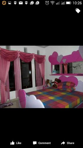 Pinkish room, Semarang