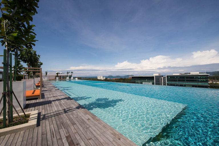 Two(2) Bedrooms@Sutera Avenue-Summer Breeze 901(A), Kota Kinabalu