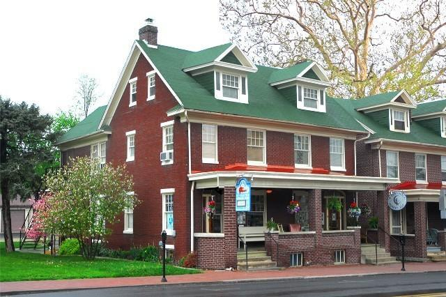 A Sentimental Journey Bed and Breakfast, Adams