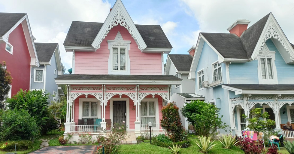 Villa Pink Puncak 2BR, Bogor