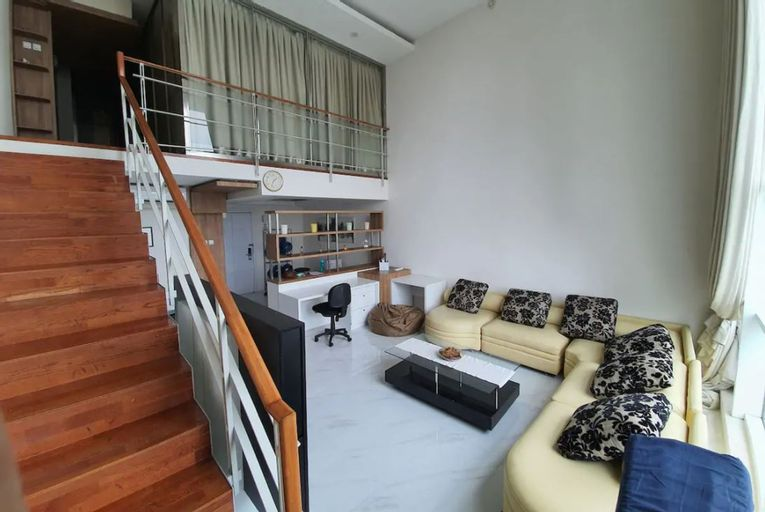 Spacious lofts style 2BR at the heart of Jakarta, Central Jakarta
