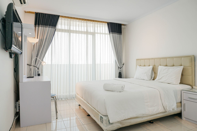Elegant 1BR Permata Eksekutif Apartment By Travelio, West Jakarta