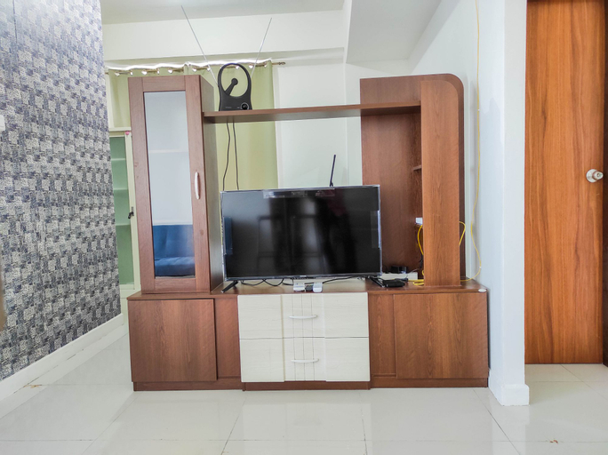 Elegant 1BR Bunk Bed with Extra Queen Bed Vida View Apartment By Travelio, Makassar