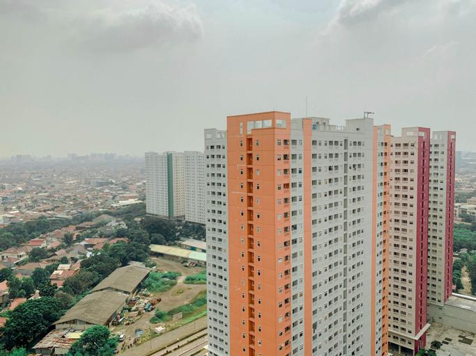 Modern Studio at Green Pramuka City Apartment By Travelio, Central Jakarta