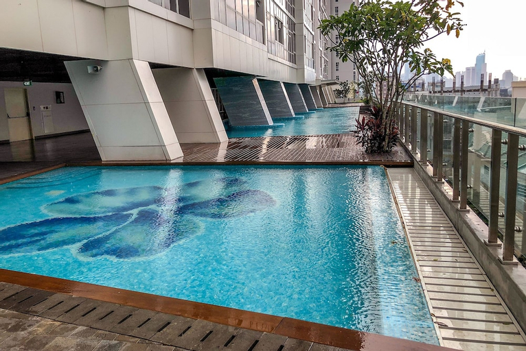 New Furnished Studio Menteng Park Apartment, Central Jakarta