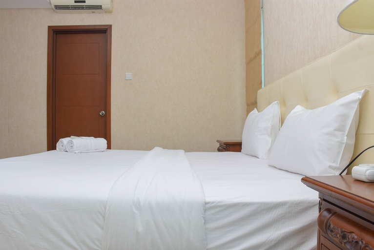 Spacious and Strategic 3BR at Thamrin Executive Apartment By Travelio, Central Jakarta