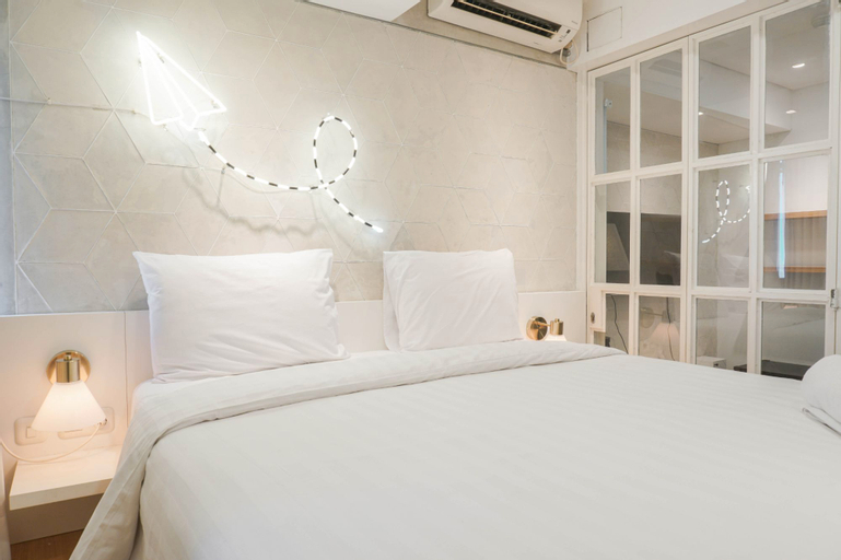 Best Homey & Relax 1BR at Pakubuwono Terrace Apartment By Travelio, South Jakarta