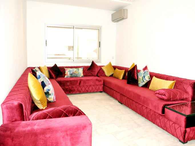 Apartment With 2 Bedrooms in Casablanca, With Wonderful City View, Terrace and Wifi - 10 km From the Beach, Casablanca