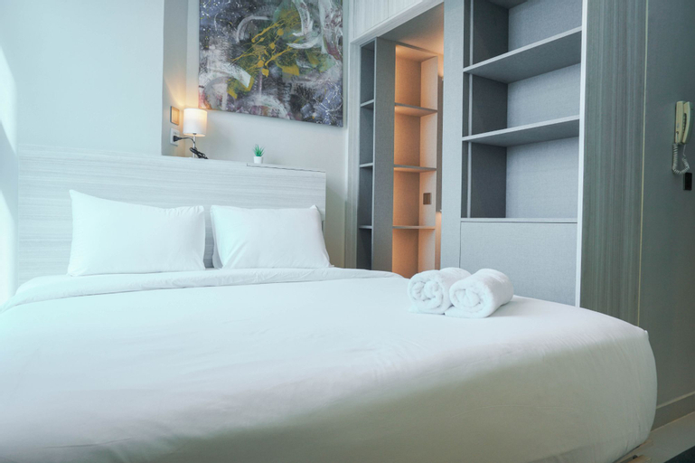 Great Choice Deluxe Studio Apartment at Capitol Park Residence By Travelio, Central Jakarta