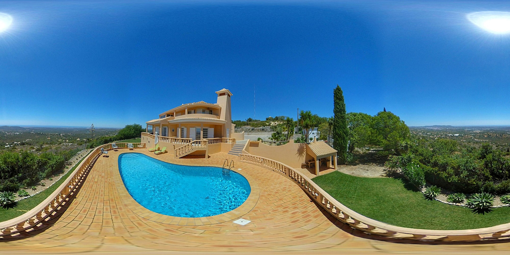 House With 4 Bedrooms in Loulé, With Wonderful sea View, Private Pool, Enclosed Garden - 12 km From the Beach, Loulé