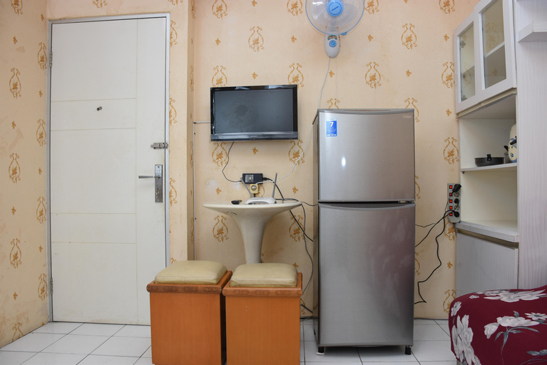 Homey 1BR at Menteng Square Apartment By Travelio, Central Jakarta
