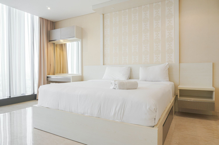 Fancy and Spacious 1BR Apartment at L'avenue Pancoran By Travelio, South Jakarta