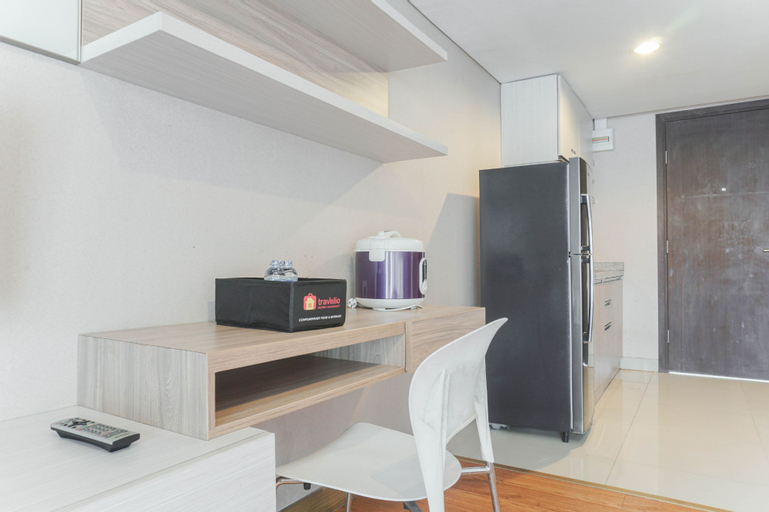 Comfortable and Nice Studio Room Apartement at H Residence By Travelio, East Jakarta