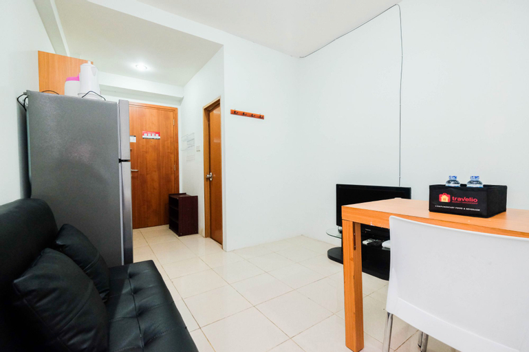 Comfortable and Homey Studio at Titanium Square Apartment By Travelio, East Jakarta