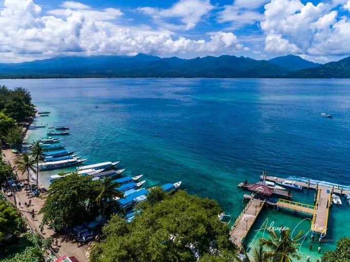 Oceans 5 dive resort, Lombok