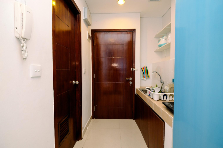 Compact Studio Capitol Park Residence By Travelio, Central Jakarta