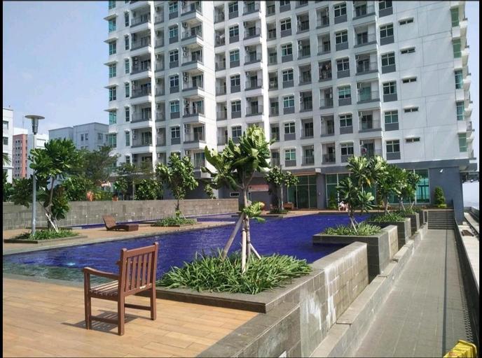 Serene peaceful Seaview Greenbay Condominium, North Jakarta