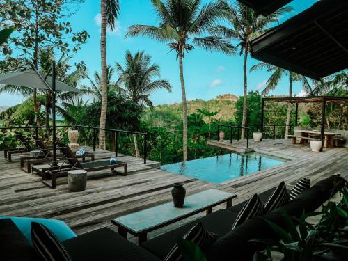 Villa Kanan, Luxury Seaview Pool Villa in the Jungle, Lombok