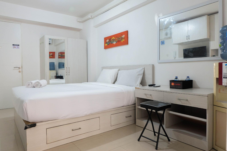 Tidy Studio Apartment at Bassura City By Travelio, East Jakarta