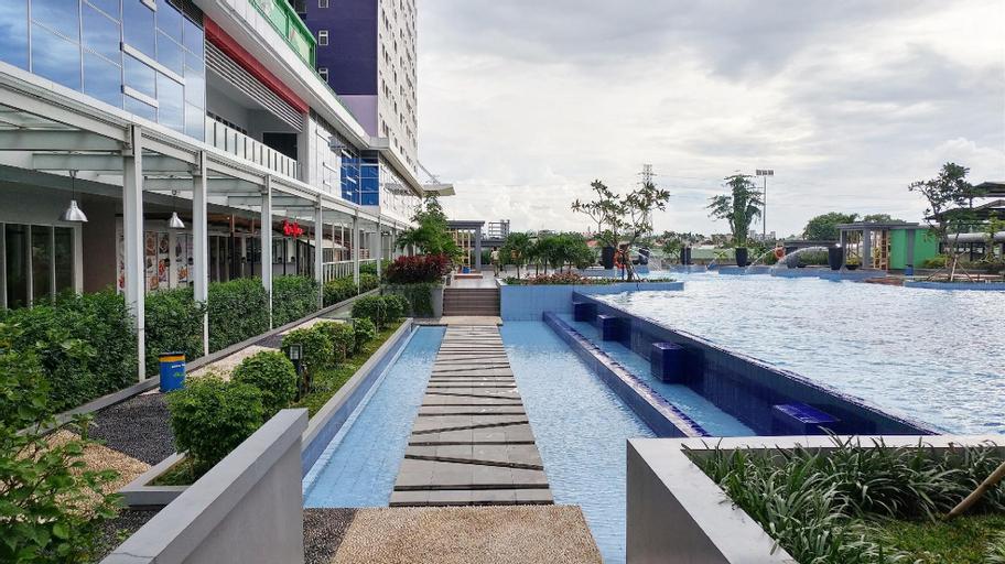 Homey 2BR Apt @Green Pramuka near Mall By Travelio, Central Jakarta