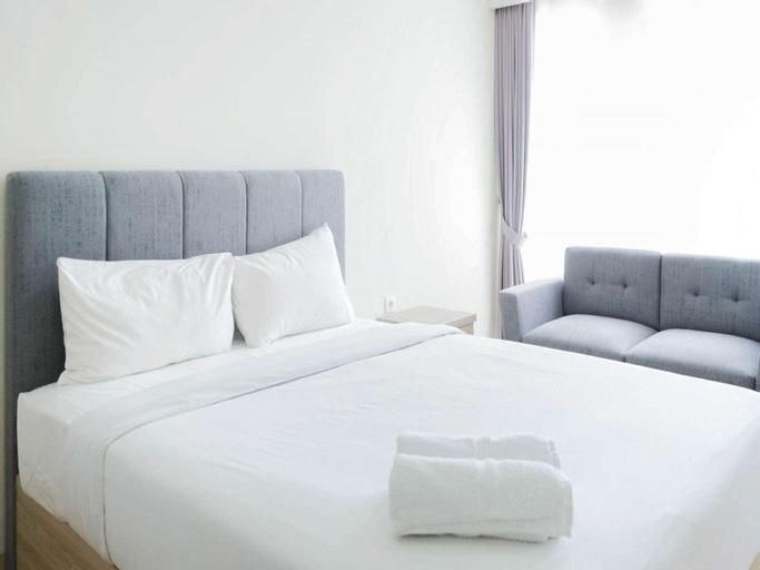 Homey Studio @Menteng Park Apartment By Travelio, Central Jakarta