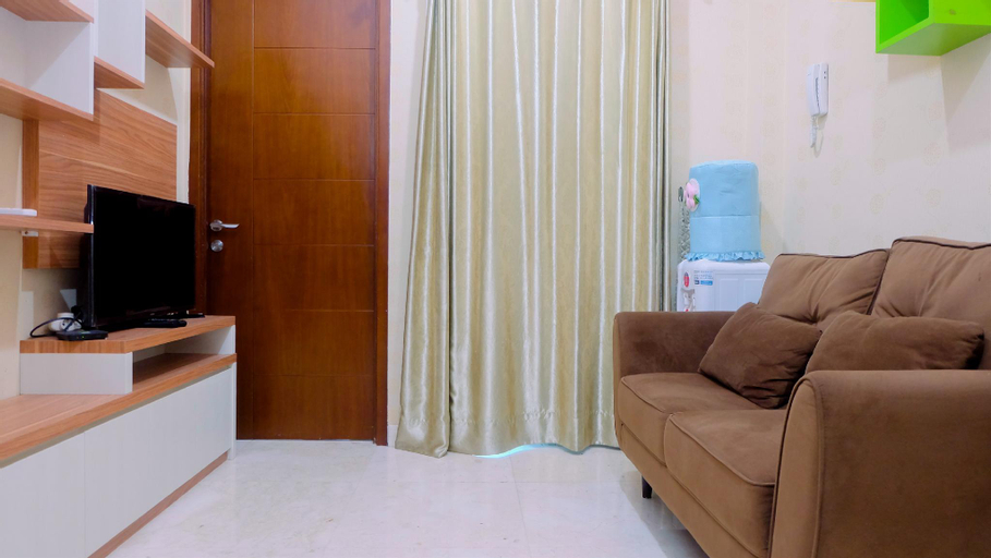 Pool View 2BR Apartment @ Capitol Park By Travelio, Central Jakarta