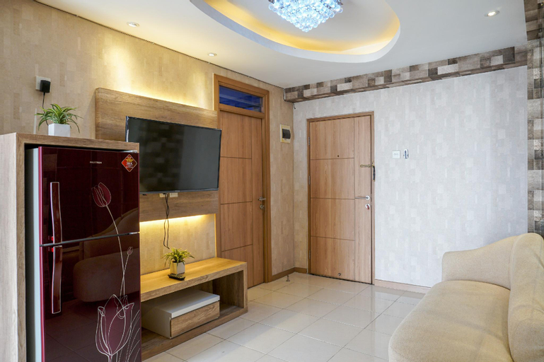 Comfortable 3BR @Green Palm Residences By Travelio, West Jakarta