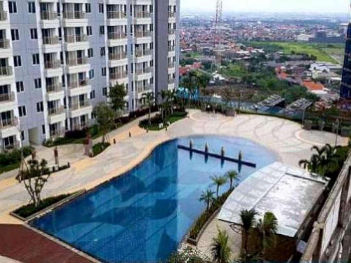 Designer 2 BR Apartment on top of Pakuwon Mall, Surabaya