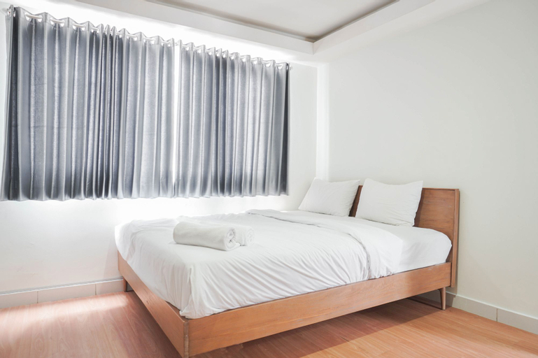 Scenic and Strategic Studio Amethyst Apartment By Travelio, Central Jakarta