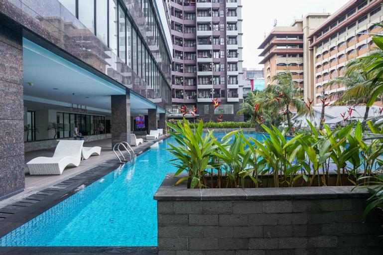 Modern 2BR at Tamansari Semanggi Apt By Travelio, South Jakarta