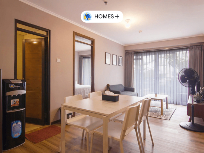 3BR Family Apartment at Gateway Pasteur by K2, Bandung