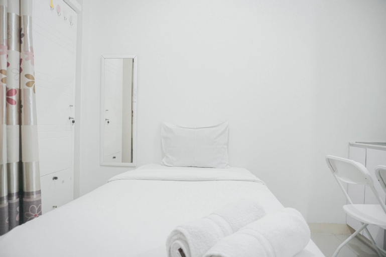 Comfy Studio Apartment for 1 Pax at Green Pramuka City By Travelio, Central Jakarta