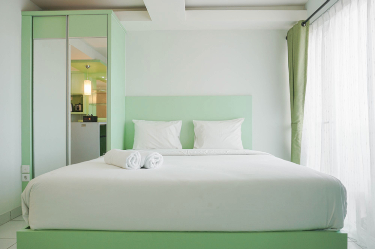 Cozy Studio at Amethyst Apartment By Travelio, Central Jakarta
