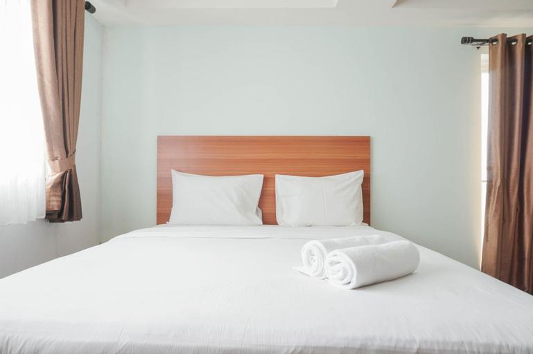 Best Homey Elegant Studio Room at Amethyst Apartment By Travelio, Central Jakarta