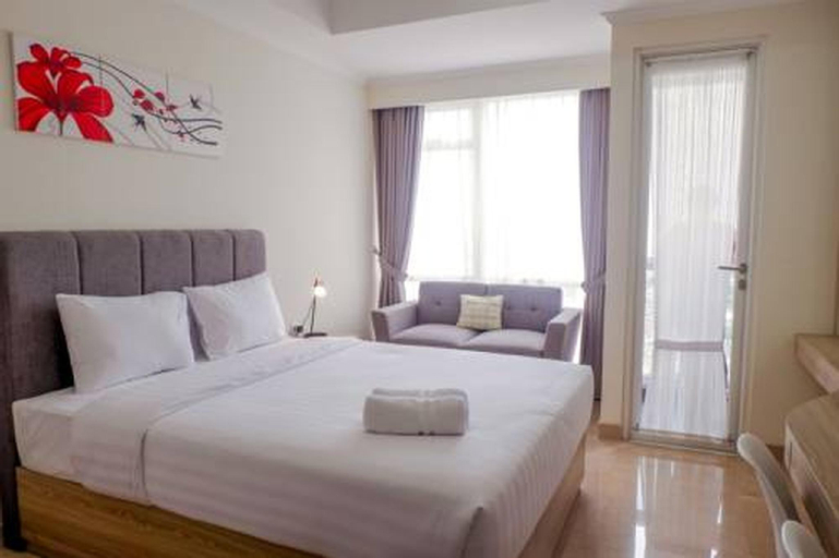 New Furnished Studio Menteng Park Apartment By Travelio, Central Jakarta