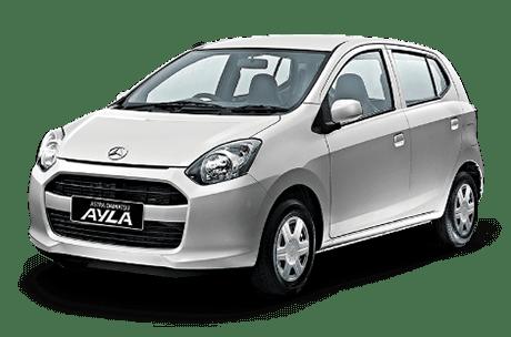 rental mobil Daihatsu Ayla Bandar Lampung