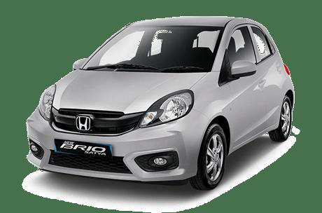 rental mobil Honda Brio Bandung