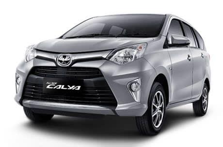 rental mobil Toyota Calya Bandung
